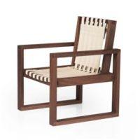 Collect Furniture stol - Frame Chair - Big - Røget olieret eg/hvid