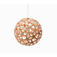 Coral Orange Pendel - David Trubridge ()
