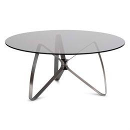 Erik Bagger sofabord - Bowtie Table - Sort/røgfarvet