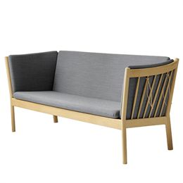 Erik Ole Jørgensen 3 pers. sofa - J149 - Eg/antracitgrå