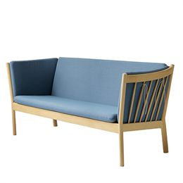 Erik Ole Jørgensen 3 pers. sofa - J149 - Eg/støvet blå