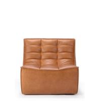 Ethnicraft N701 sofa - 1 seater - Old Saddle