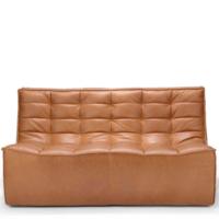 Ethnicraft N701 sofa - 2 seater - Old Saddle