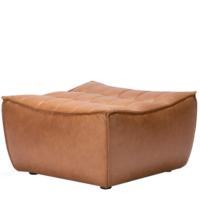 Ethnicraft N701 sofa - footstool - Old Saddle