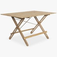 Field Table, Natural bamboo