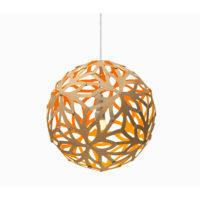 Floral Orange Pendel - David Trubridge ()