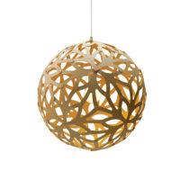 Floral Pendel Bamboo/Gul Ø100 - David Trubrigde