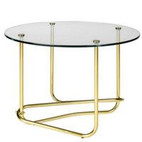 Gubi Matégo Side Table - Transparent Glass