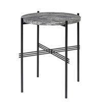 Gubi TS Side Table - Grå Marmor - Ø40 cm.
