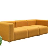 HAY Mags 3 Personers Sofa - Steelcut Trio