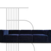 HAY Mags Sofa (3 Pers.) Harald Velour Stof