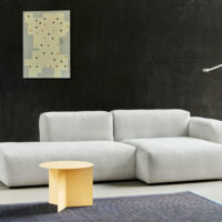 HAY Mags Soft Sofa - Low Arm - Combination 3 - Linara Stof 311
