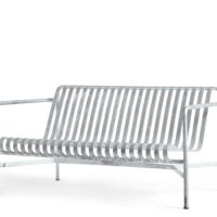 HAY Palissade Lounge Sofa - Galvaniseret