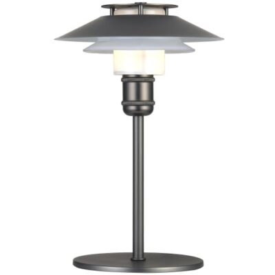 Halo Design bordlampe - 1123 - Gun black