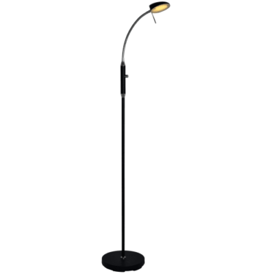 Halo Design gulvlampe - Vegas - Sort