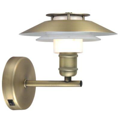Halo Design væglampe - 1123 - Antik guld