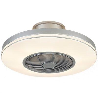 Halo Design ventilator plafond med lys