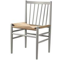 Jørgen Bækmark stol - J80 - Agatgrå/natur