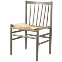 Jørgen Bækmark stol - J80 - Mosgrå/natur