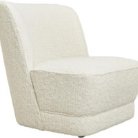 Jakobsdals Royal loungestol - offwhite boucle
