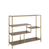 Kare Design Loft reol - gold - 100x115