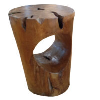 Lio collection Round stool hole