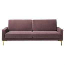 Living&more 3 pers. sofa - Viktoria - Peach