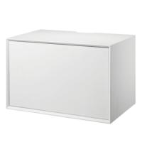 Living&more hi-fi skab - The Box - 37 x 58 x 34 cm - Hvid