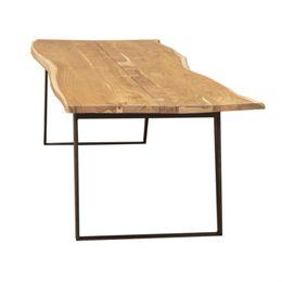 Living&more plankebord - Thor - Akacietræ/Metal