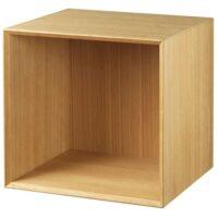 Living&more reol - The Box - 37 x 39,4 x 34 cm - Eg