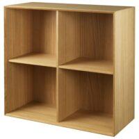 Living&more reol - The Box - 71,2 x 76,4 x 34,0 cm - Eg
