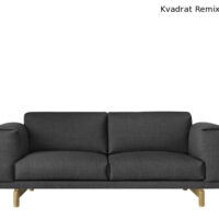 Muuto Rest Sofa 2 Pers - Hallingdal