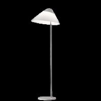 Opala Midi Gulvlampe m/Dimmer Hvid & Krom - Pandul