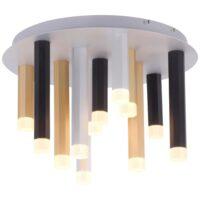 Paul Neuhaus loftlampe - Pure-gemin - Sort/aluminium/messing