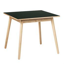 Poul M. Volther 4 pers. spisebord - C35A - Eg/mørkegrøn linoleum