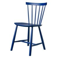 Poul M. Volther stol - J46 - Mørkeblå