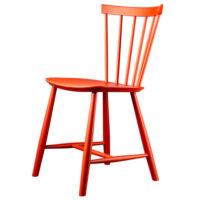 Poul M. Volther stol - J46 - Rød