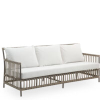 Sika Design Caroline Exterior Sofa - Inkl. Hynder - Moccachino