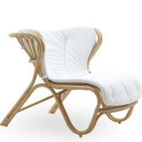 Sika Design Fox Exterior Loungestol Hynde - B450 Tempotest White
