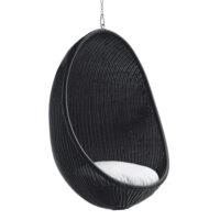 Sika Design Hanging Egg Chair - Udendørs - Sort