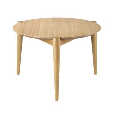 Stine Weigelt sofabord - D102 Søs - Ø 55 cm - Eg