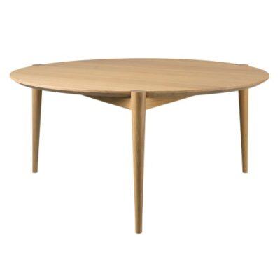 Stine Weigelt sofabord - D102 Søs - Ø 85 cm - Eg