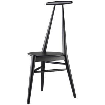 Stine Weigelt stol - J157 Anker - Sort