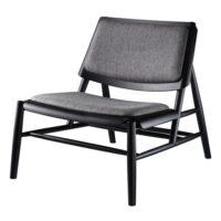 Thomas E. Alken jagtstol - J162 Paso - Sort/grå