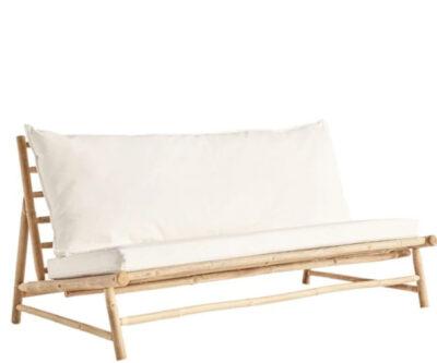 Tine K Home Bambus sofa - hvid hynde