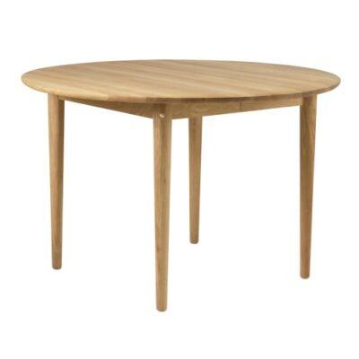 Unit10 spisebord med udtræk - C62E Bjørk - Eg